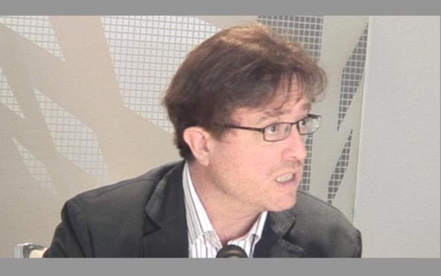 """Javier López: """"La teoría del libre mercado puede producir un estallido de avaricia"""""""