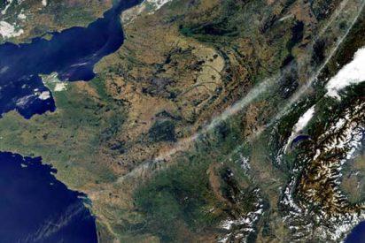 Montañas que posan para la ESA