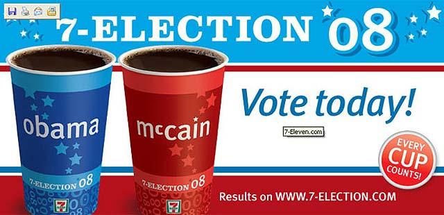 ¿Café con Obama o con McCain?