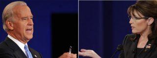 Palin y Biden se disputan el cambio en unb debate de guante blanco