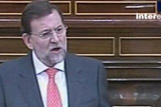 """Rajoy: """"Señor Zapatero, no sé de qué se ríe..."""""""