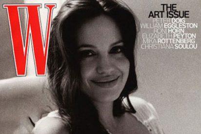 Angelina Jolie muy íntima en la portada de W