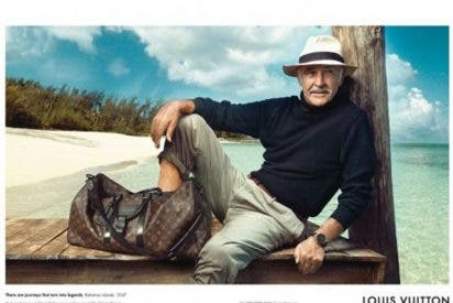 Sir Sean Connery, embajador de Louis Vuitton