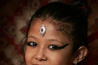Diosa viviente... con seis años