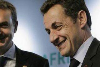 Zapatero implora a Sarkozy por un lugar en la cumbre mundial