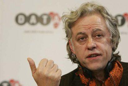 """Bob Geldof cobra 100.000 dólares por dar un discurso """"contra la pobreza"""""""