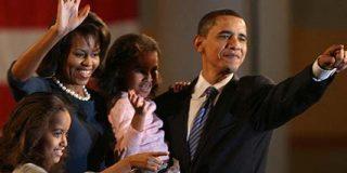 Obama cambia el color de la política y la historia de EEUU