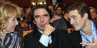 Aznar advierte a Rajoy que para llegar a La Moncloa hay que salir a ganar