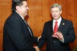APEC 2008- Presidente García y primer ministro de Canadá sostuvieron encuentro bilateral