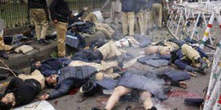 Siete muertos y 30 heridos en una explosión en Pakistán