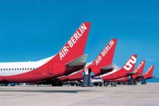 Air Berlín mantiene el record de pasajeros en Palma