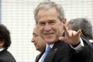 Crónica de la llegada de George Bush a Lima