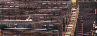 Parlamento español: Cerrado por vacaciones