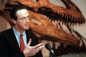 Michael Crichton, autor de 'Parque Jurásico'