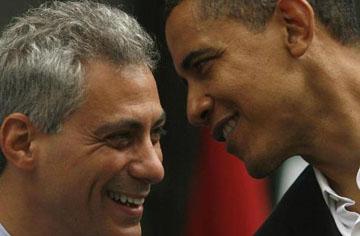 "Rahm Emanuel le dice ""Sí, quiero"" a Obama"