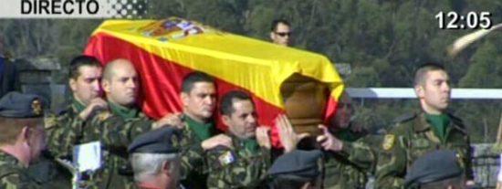"""Nuestros soldados mueren en Afganistán mientras ZP es rehén del """"pacifismo flower-power"""""""