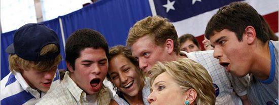 Hillary Clinton, posible secretaria de Estado del Gobierno de Obama