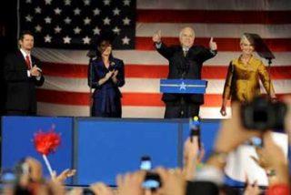 John McCain reconoce la victoria de Barack Obama