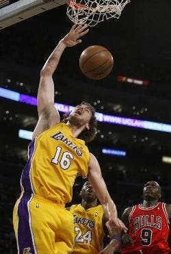 Gasol, camino del All-Star