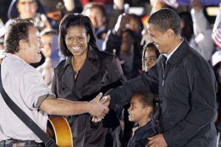 Springsteen canta para Obama