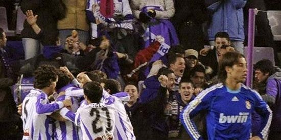 El Real Madrid se va a pique en Valladolid