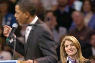 Caroline Kennedy, posible sustituta de Clinton como senadora de Nueva York