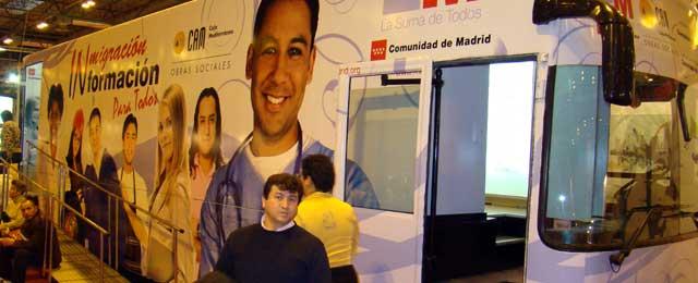 Comunidad deMadrid apoya programa de acogida e integración de inmigrantes