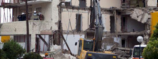 Cuatro fallecidos en el derrumbe del hotel Son Moll