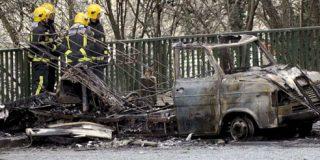 Una etarra colocó la furgoneta bomba en EiTB y otros dos le ayudaron a huir
