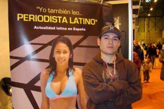 Integra / Cantante latino Guille 'El Invencible' visitó el stand de Periodista Latino