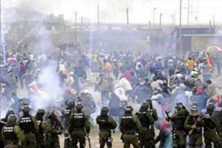 Nueve peruanos detenidos en las protestas en Bolivia que causaron un muerto