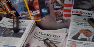 La prensa generalista se hunde en los quioscos