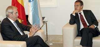 Touriño pide a ZP más financiación para imponer el gallego