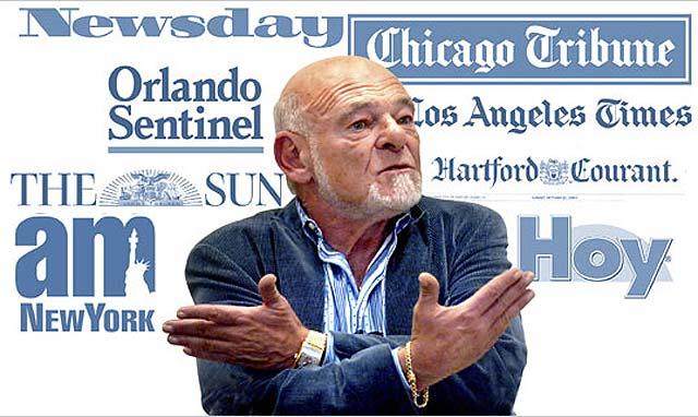El mayor editor de prensa de EE UU, se declara en bancarrota