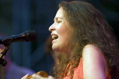 """Lucía Pulido en el Festival """"Ellas crean"""""""