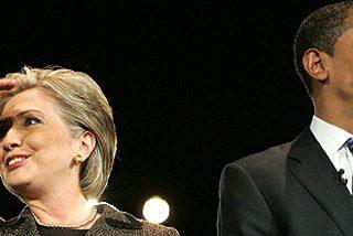 Obama y Clinton agudizan sus diferencias