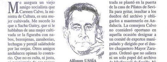 Alfonso Ussía ficha por 'Herrera en la Onda'