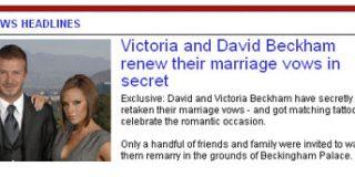 Se casan por segunda vez
