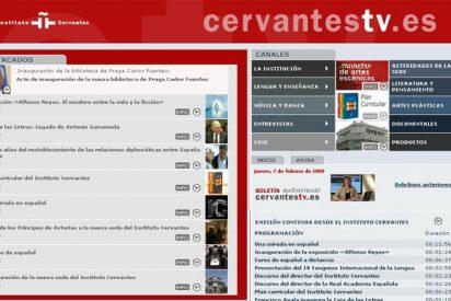 CervantesTV.es, la cultura en español llega a Internet a través de la televisión