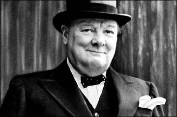 Churchill, un personaje de ficción