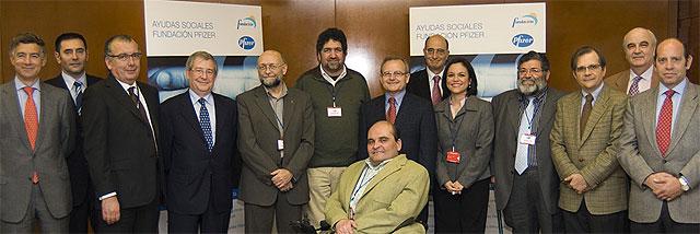 La Fundación Pfizer entrega las 'Ayudas Sociales' 2007 a proyectos en favor de la discapacidad