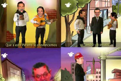 """Rajoy y Aznar cantan """"al rojo del alcalde"""" en El Jueves"""