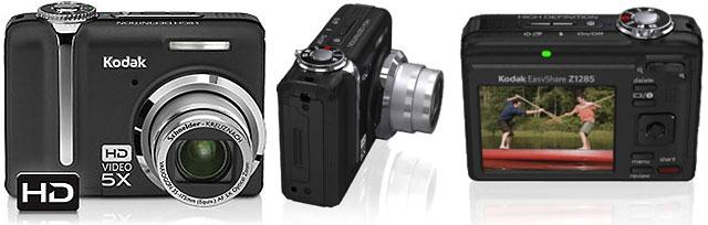 Kodak EasyShare Z1285, una cámara de fotos que también graba video en alta definición