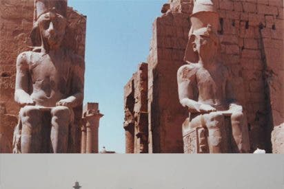 El Nilo se come los cimientos de los templos de Luxor