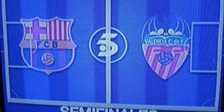 Tele 5 retira un anuncio del Barça-Valencia tras detectar el escudo del PP