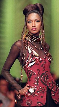 La ex top model africana Katoucha se ahoga en el Sena