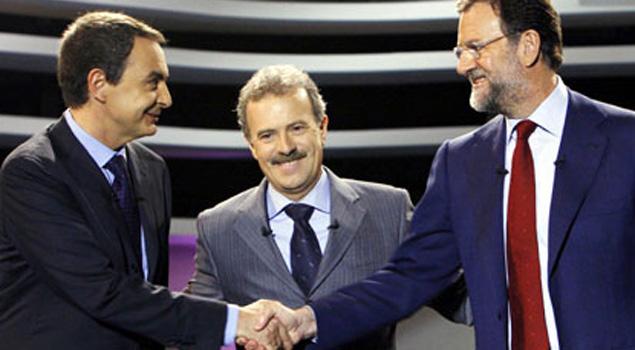 Rajoy consigue una victoria contundente sobre ZP