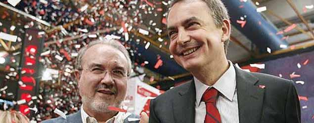 El PSOE agita el mensaje de que piensa más en Aguirre que en Rajoy