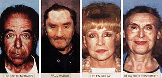Dos ancianas que asesinaban mejor que los guionistas de Hollywood