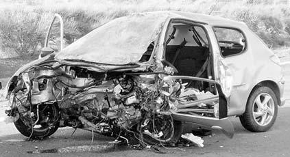 El trauma de sufrir un accidente de tráfico